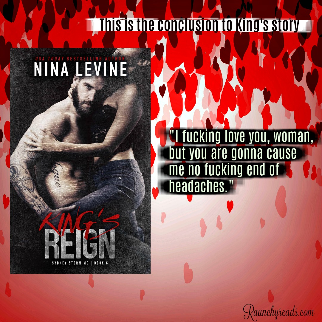 King's Reign Sydney Storm MC Book 6