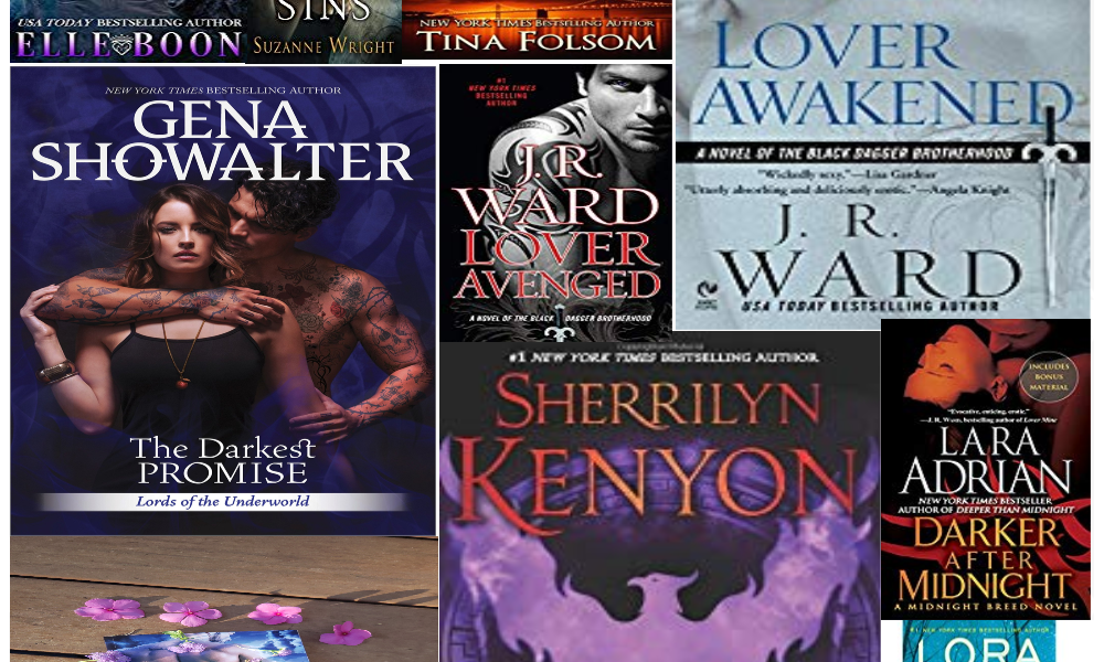 10 Paranormal Romance Books